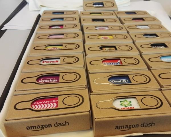 Amazon startet mit Dash-Buttons verschiedener Markenhersteller. (Bild: Ingo Pakalski/Golem.de)
