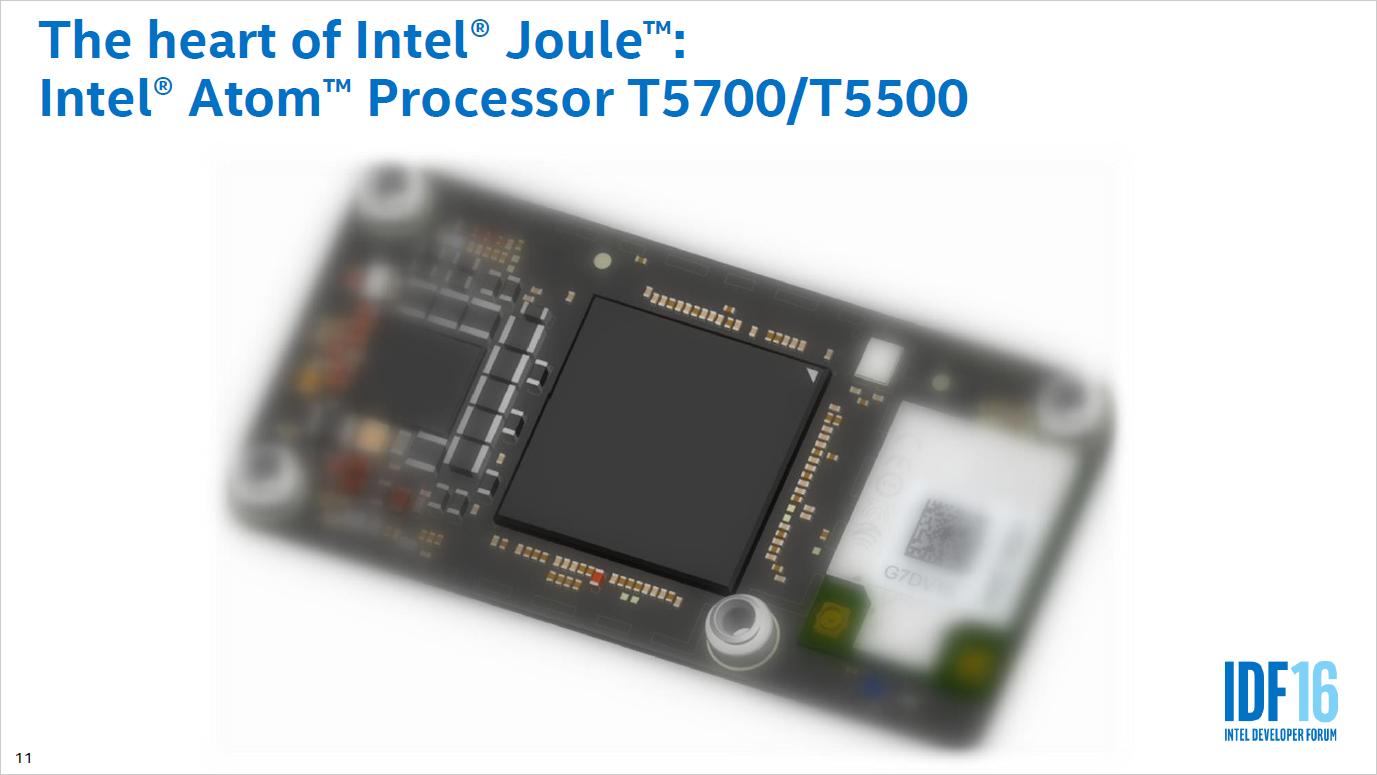 Broxton: Intels Smartphone-Chip wird zum schnellen Maker-Chip - Joule-Modul mit Broxton (Bild: Intel)