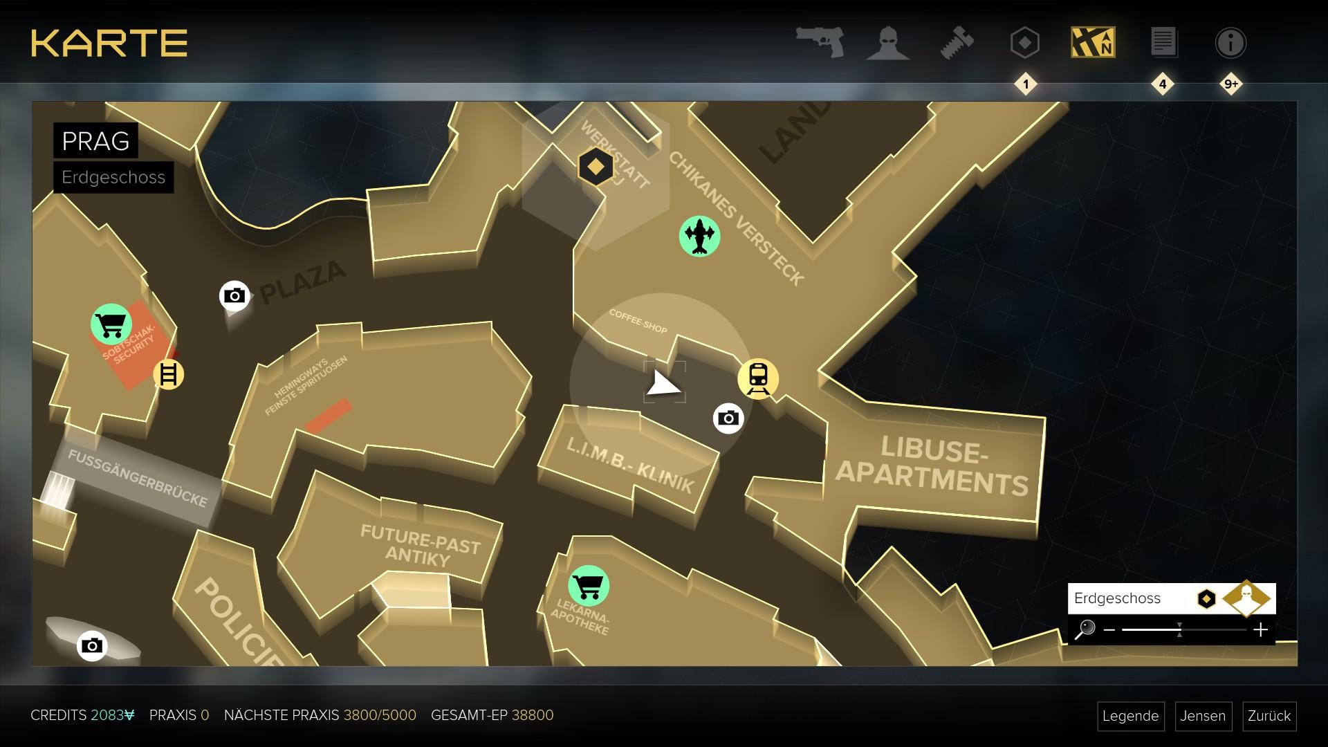 Deus Ex Mankind Divided im Test: Der Agent aus dem Hardwarelabor -