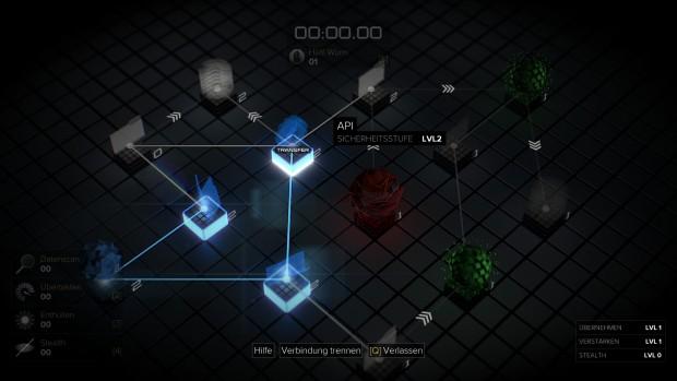 Die Denksport-Hackeraufgaben werden im Spielverlauf immer kniffliger. (Screenshot: Golem.de)