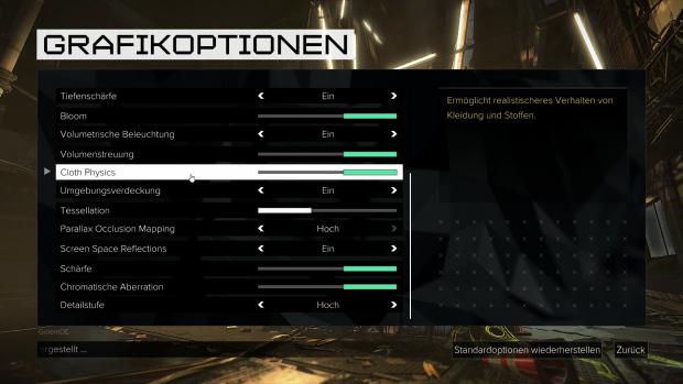 Die PC-Version bietet ... (Screenshot: Golem.de)