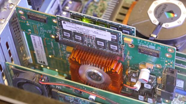 Everspins ES1GB-01 mit MRAM (Foto: Marc Sauter/Golem.de)