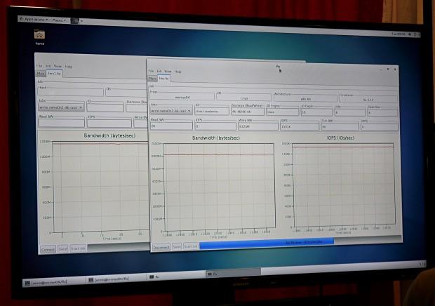 Die SSD erreicht 1,5 Millionen IOPS. (Foto: Marc Sauter/Golem.de)