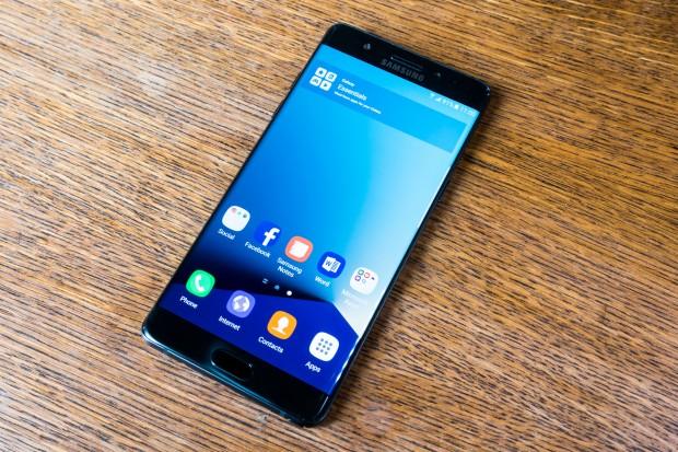 Das neue Galaxy Note 7 von Samsung (Bild: Tobias Költzsch/Golem.de)