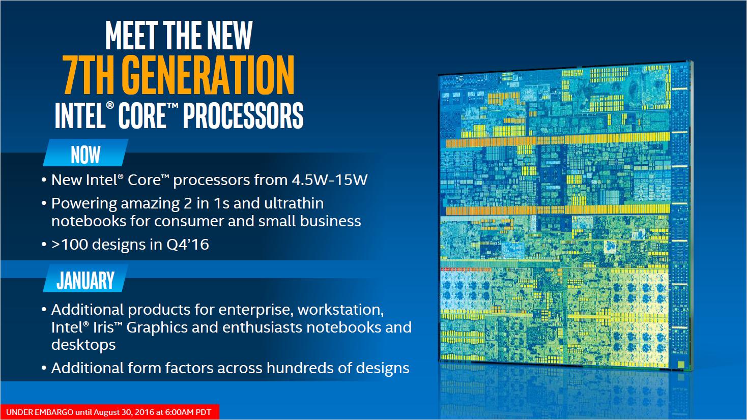 Kaby Lake: Intel stellt neue Chips für Mini-PCs und Ultrabooks vor -