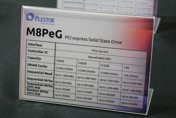 Daten der Plextor M8PeG (Foto: Marc Sauter/Golem.de)