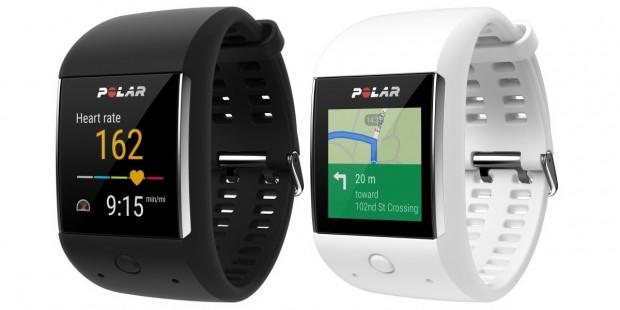 Der Polar M600 ist in Schwarz und Weiß verfügbar. (Bild: Polar)