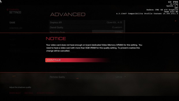 Doom verweigert Nightmare-Details (Screenshot: Marc Sauter/Golem.de)