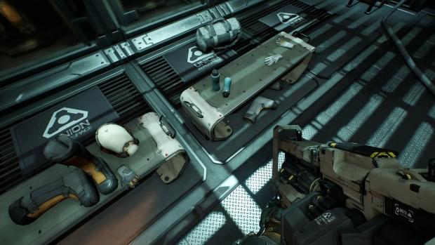 Doom mit Ultra-Schatten/-Texturen ... (Screenshot: Marc Sauter/Golem.de)
