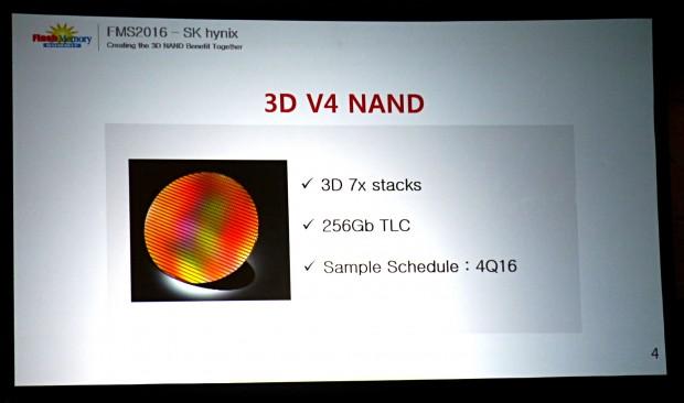 SK Hynix kündigt den 3D-Flash v4 an. (Foto: Marc Sauter/Golem.de)