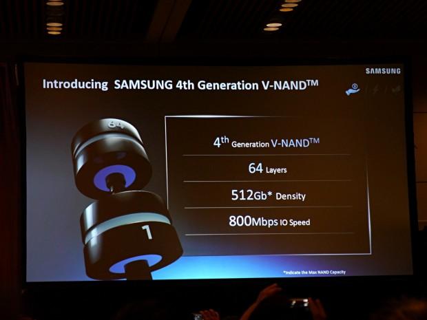 Samsung präsentiert den V-NAND v4 (Foto: Marc Sauter/Golem.de)