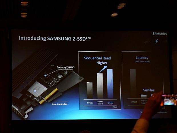 Samsungs Z-SSD soll schneller sein als eine mit PRAM. (Foto: Marc Sauter/Golem.de)