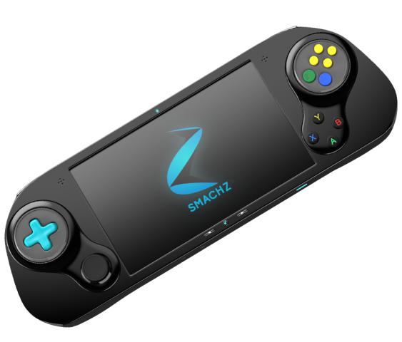Smach Z mit D-Pad und Emulator-Aufsatz (Bild: Smach Team)