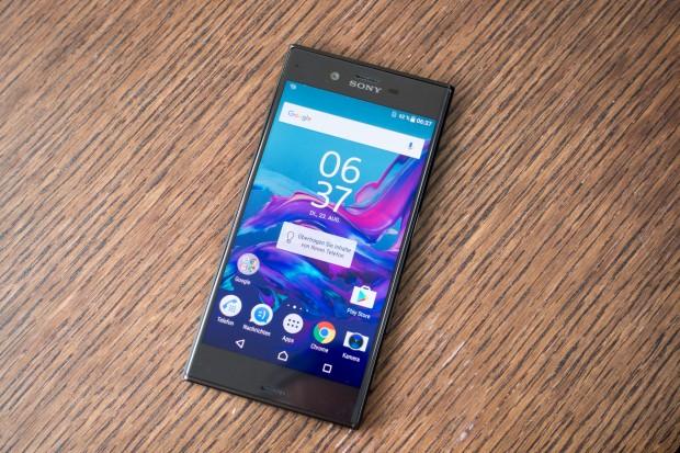 Sony hat das neue Xperia XZ vorgestellt. (Bild: Tobias Költzsch/Golem.de)