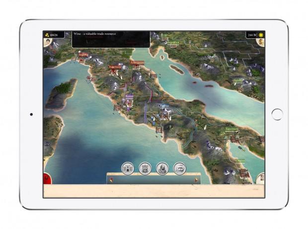 Total War Rome auf dem iPad (Bild: Sega)