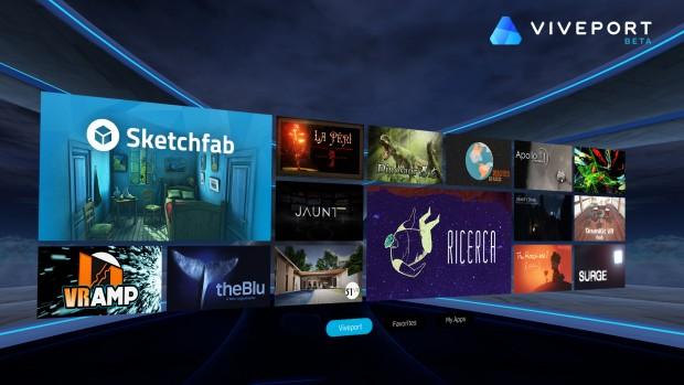 Vive Port (Screenshot: HTC)