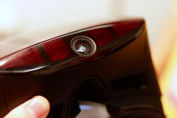 Die externe Kamerlinse des AOC PC VR (Bild: Golem.de/Foto: Michael Wieczorek)