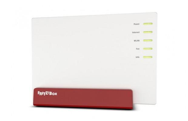 Das Design der neuen Fritzbox 7580 unterscheidet sich deutlich von dem ihrer Vorgänger. (Foto: AVM)