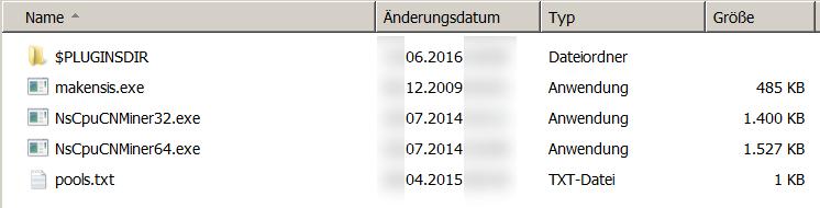 Kritische Infrastrukturen: Wenn die USV Kryptowährungen schürft - In der Malware sind Mining-Programme versteckt. (Screenshot: Golem.de)