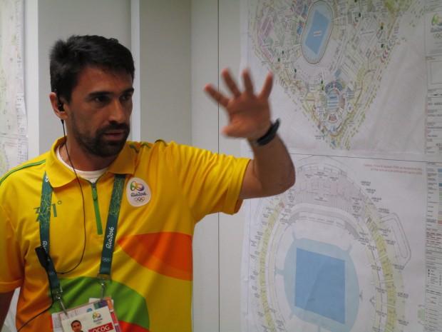 Stadionmanager Luiz Brum (Bild: Felix Lill)