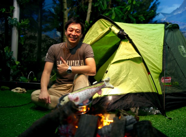 Hajime Tabata auf der Gamescom 2016 (Foto: Michael Wieczorek)