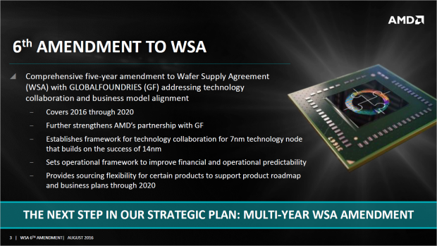 Neues Wafer Supply Agreement mit Globalfoundries (Bild: AMD)