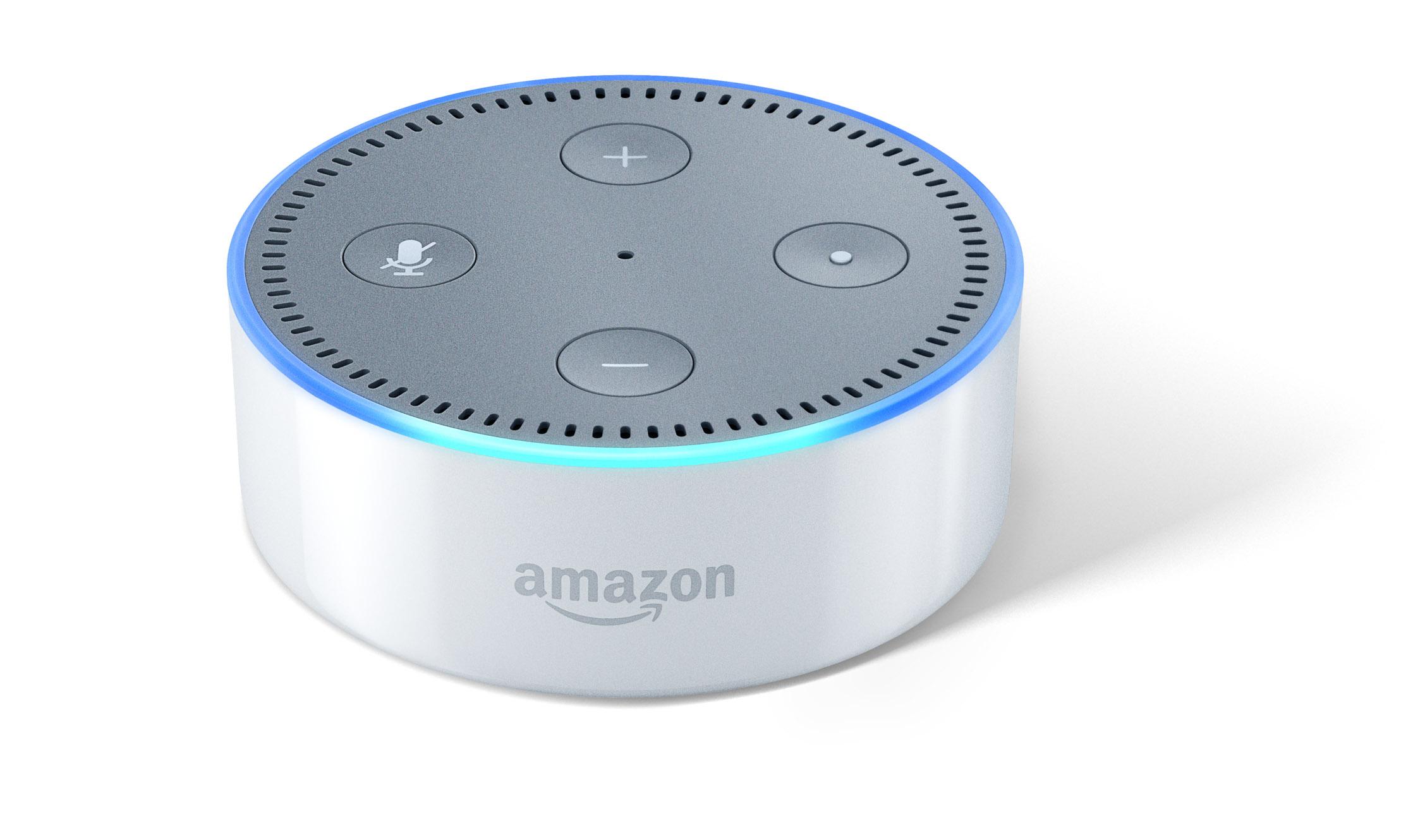 Echo und Echo Dot im Hands on: Amazons Alexa klingt auf Deutsch schon sehr gut - Echo Dot (Bild: Amazon)