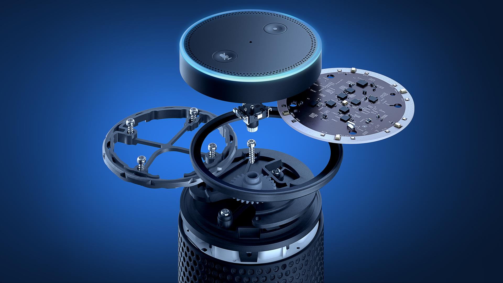 Echo und Echo Dot im Hands on: Amazons Alexa klingt auf Deutsch schon sehr gut - Echo (Bild: Amazon)
