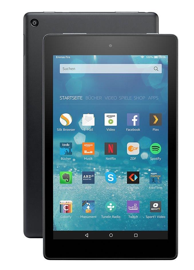 Amazons Fire HD 8: 8-Zoll-Tablet mit 16 GByte kostet für Prime-Kunden 90 Euro - Neues Fire HD 8 (Bild: Amazon)