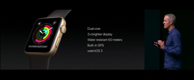 Überblick zur Watch Series 2 (Bild: Apple)