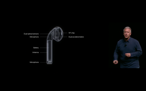 Apple Airpods (Bild: Apple/Screenshot: Golem.de)