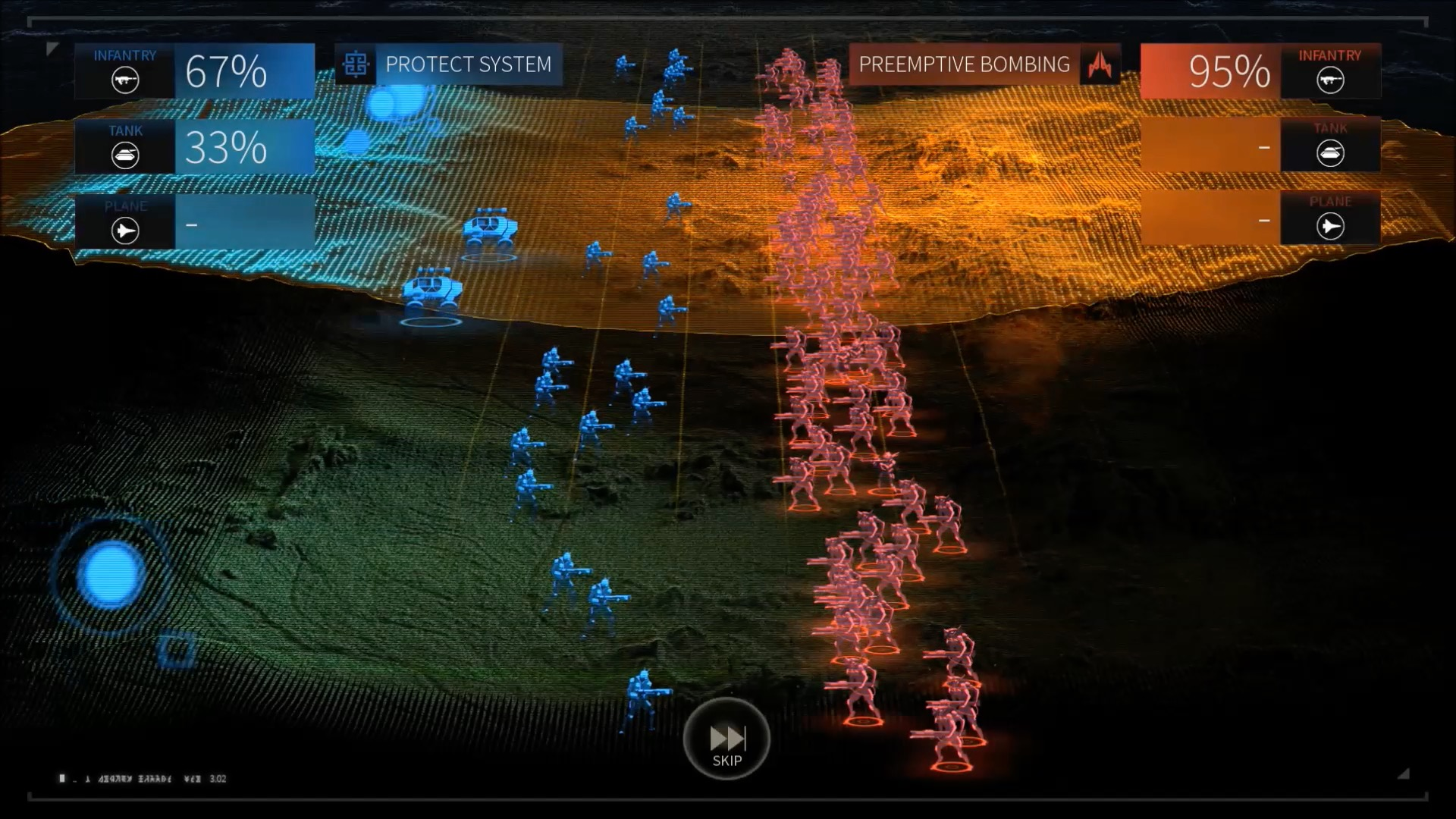 Endless Space 2 in der Vorschau: Bereits jetzt meisterlicher als Orion - Ein Bodenkampf in Endless Space 2 (Screenshot: Golem.de)