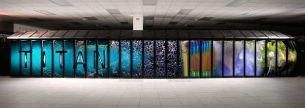 Der Titan-Supercomputer (Foto: Oak Ridge National Laboratory)