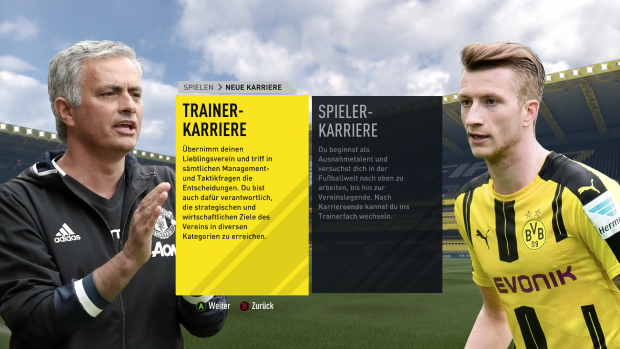 Die Xbox-One-Version von Fifa 17 (Screenshot: Golem.de)