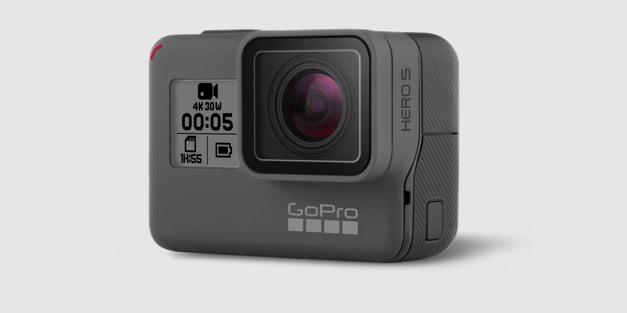 Actionkamera: Gopro Hero5 ist wasserdicht und hört auf Sprachkommandos - Gopro Hero 5 (Bild: Gopro)