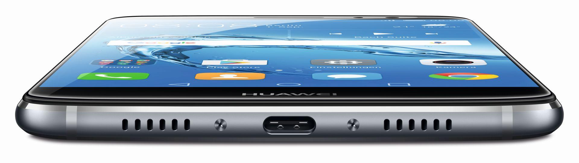 Android-Smartphone: Huawei bringt Nova Plus doch nach Deutschland - Geladen wird das Nova Plus mit einem USB-Typ-C-Kabel. (Bild: Huawei)
