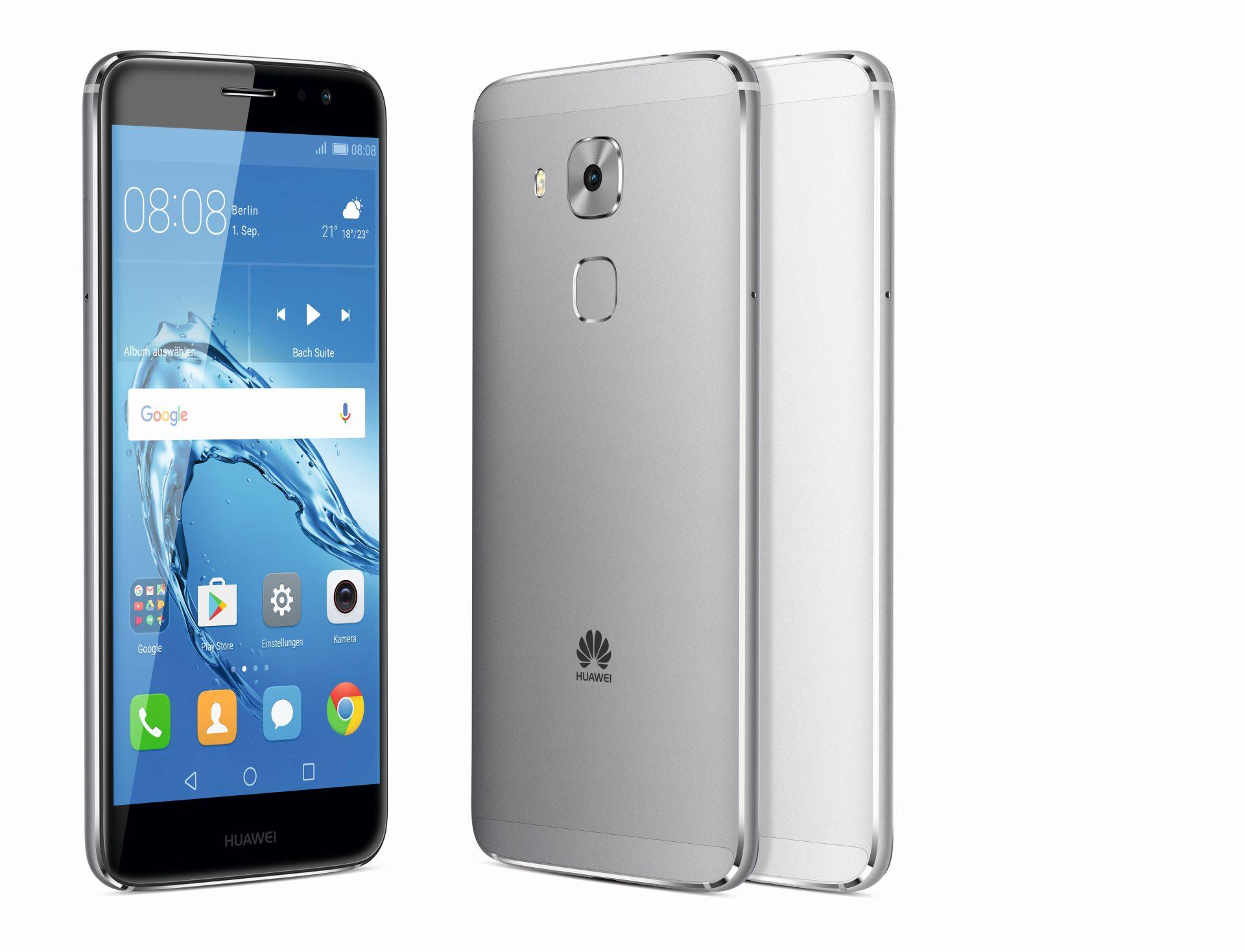 Android-Smartphone: Huawei bringt Nova Plus doch nach Deutschland - Das Nova Plus von Huawei (Bild: Huawei)