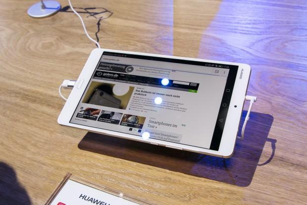 Huaweis Mediapad M3 (Bild: Martin Wolf/Golem.de)
