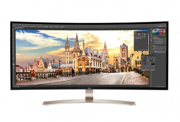 38UC99-Display (Bild: LG)