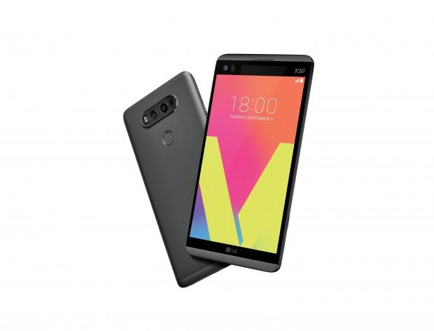 Das V20 von LG (Bild: LG)