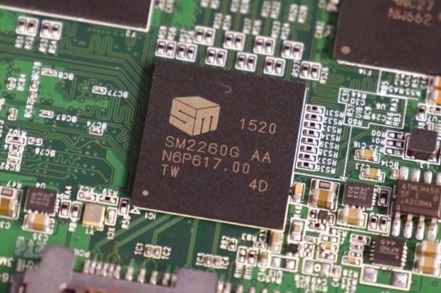 In Controller von Silicon Motion (Foto: Martin Wolf/Golem.de)