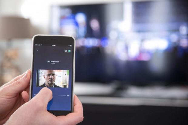 In einer aufgenommenen Sendung kann beliebig gespult werden. (Bild: Martin Wolf/Golem.de)
