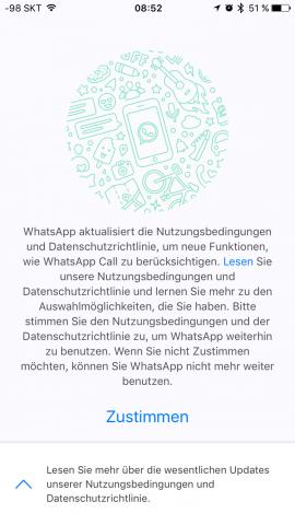 Oben rechts befand sich einmal eine Schaltfläche, um die Entscheidung hinauszuzögern. (Screenshot: Golem.de)