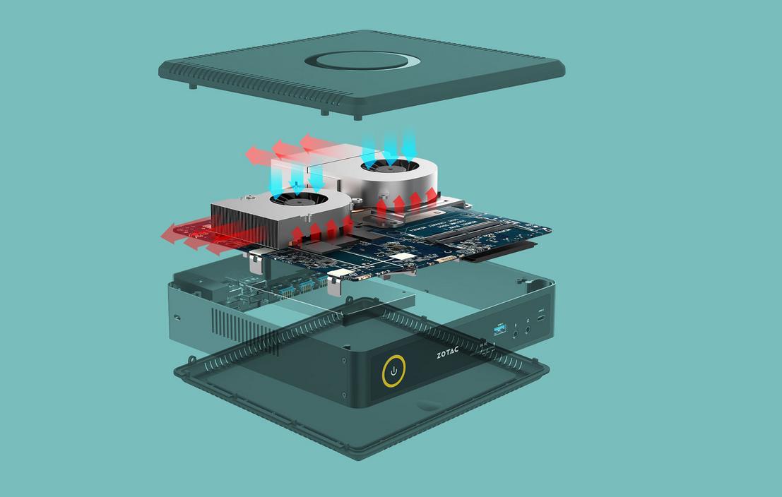 Magnus EN1070/EN1060: Zotac stellt besonders kleine Mini-PCs für VR-Gaming vor -