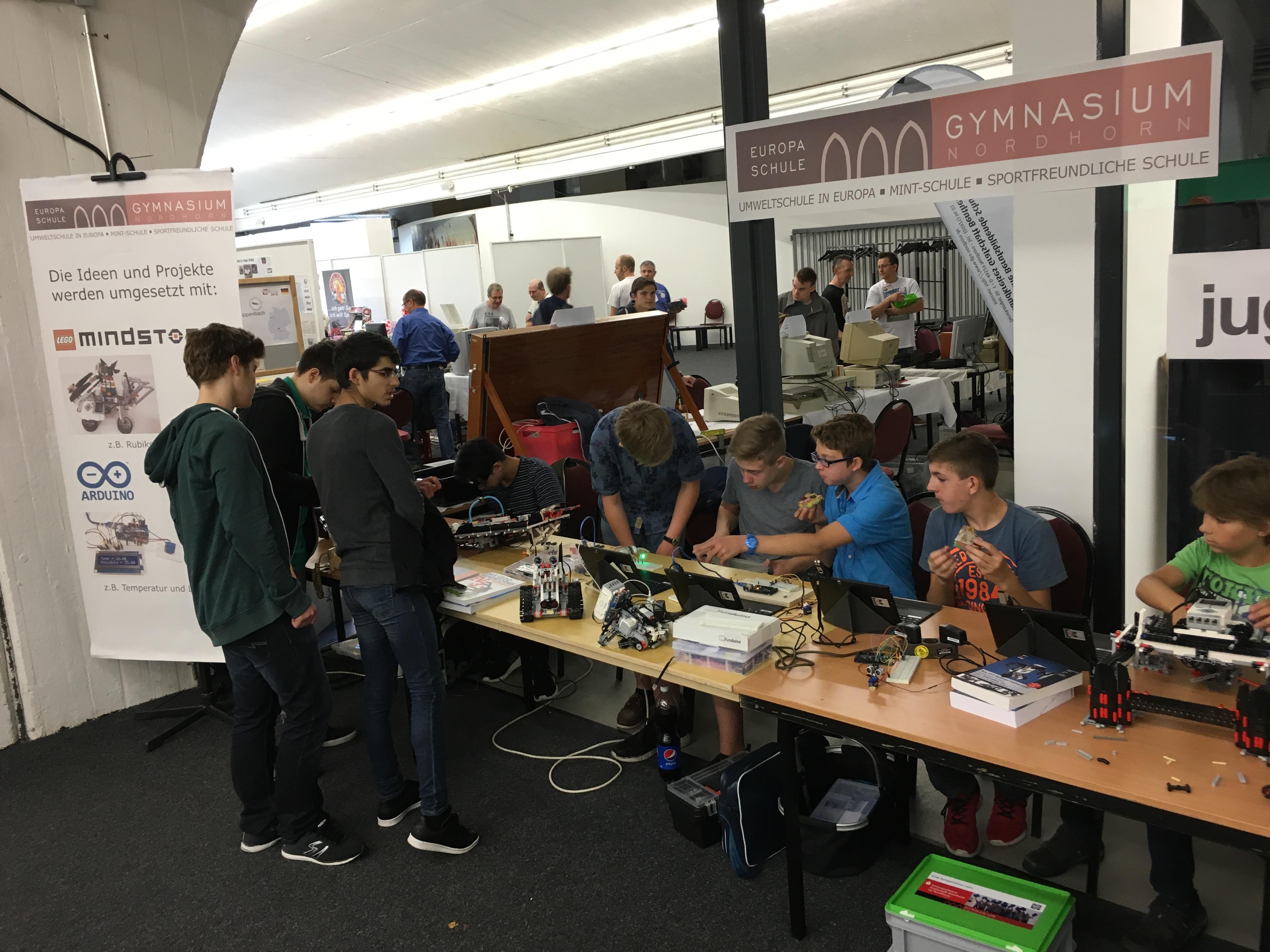 Classic Computing 2016: Wie Nordhorn für ein Wochenende zu Nerdhome wurde - Die Retroaussteller von morgen (Bild: Mario Keller)