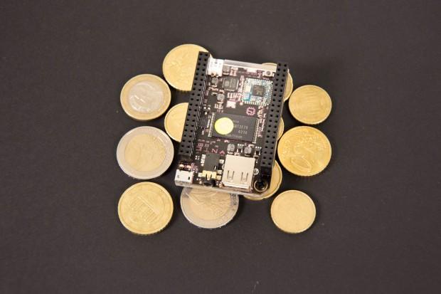 Der Chip ist mit 9 US-Dollar preiswert...(Foto: Martin Wolf/Golem.de)