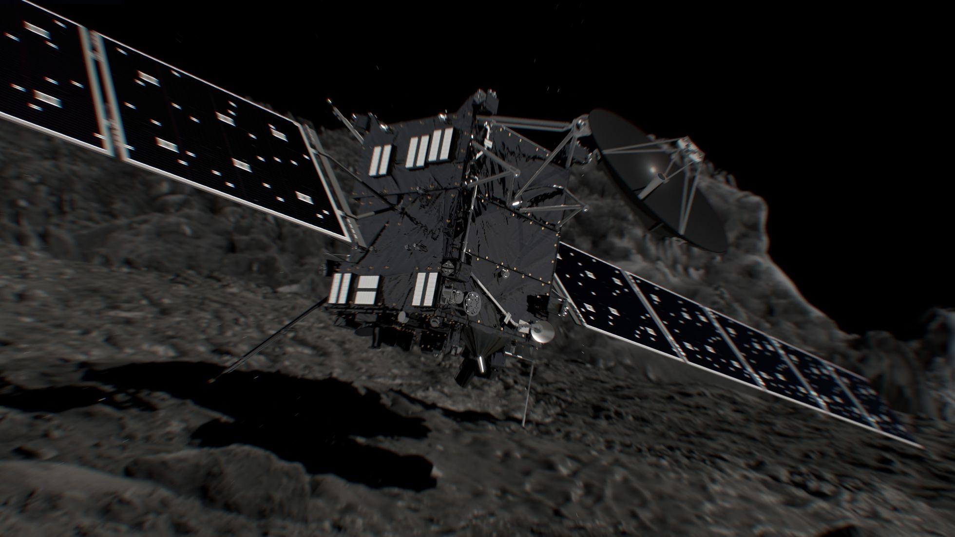 Raumfahrt: Forscher finden noch ein Bild von Rosetta -