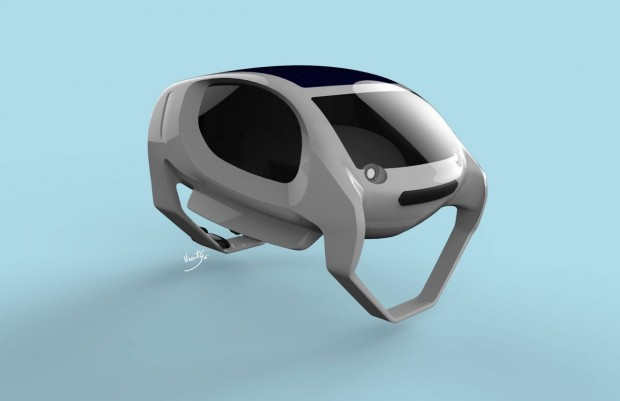 Sea Bubbles sind elektrisch betriebene Tragflügelboote. (Bild: Sea Bubbles)