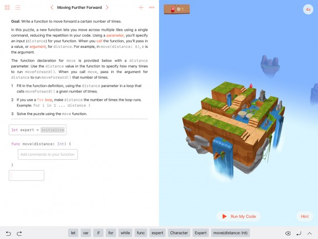 Bei der Editoreingabe steht am Bildschirmrand eine Auto-Vervollständigung zur Verfügung, ... (Screenshot: Alexander Merz/Golem.de)
