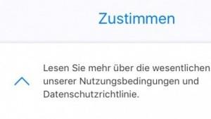 Unter dem Pfeil versteckt sich eine Widerspruchsmöglichkeit. (Bild: Screenshot: Golem.de)
